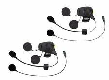 Sena Bluetooth SMH5D-FM-UNIV Headset Communicator Boom & Wire Mic Dual Whoo Hoo!