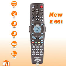 Universal learning remote control TV/SAT/DVD/DVB-T/CD//VCR/AUX. multi-purpos