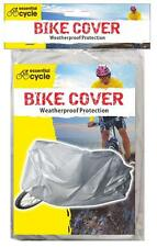 Lightweight Silver Waterproof Bicycle Bike Cycle Cover (Small Motorbike Cover)