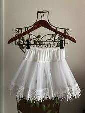Country Girl Women's Halloween Costume Teardrop Petticoat Skirt Leg Avenue