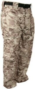 Aqua Design  Camo Convertible Fishing Pant UPF 50+ Protection Pacific Sand XL