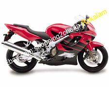 For Honda CBR600 F4 1999 2000 CBR 600 F4 99 00 Red Black Motorcycle Fairing Kit