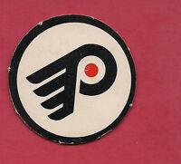 RARE 1970S OPC PHILADELPHIA FLYERS  LOGO  INSERT CARD