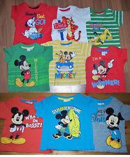 Disney Baby T-Shirt z.B. Mickey Maus Pluto Tigger 101 Dalmatiner Gr. 62 - 92