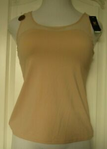Wacoal Keep your cool racerback tank Size X-Large Style 815378 Sand (263)