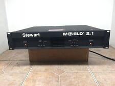 Stewart Audio World 2.1 Professional Power Amplifier
