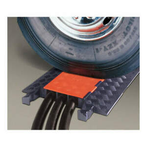 CHECKERS - GD3X225-O/B Cable Protector Hinged 3 Channels 3 ft.