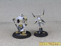 30mm&40mm Guild Ball WDS painted First Light of Solthecius The Union e24