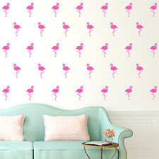 Cute Flamingo Birds Removable Art Wall Stickers Home Bedroom Decal Vinyl Decor