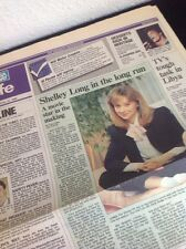 Shelley Long USA TODAY Life Section Newspaper April 16, 1986 CHEERS TV Show