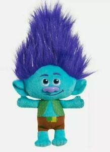 DreamWorks Trolls World Tour 8 Inch Small Plush Branch - New
