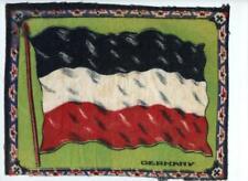 "c 1910 Germany Antique Cigarette Tobacco Felt Blanket Flag 10.5"" x 8.25"""