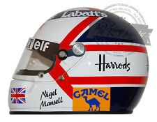 Nigel Mansell 1992 Formula 1 World Champion F1 Replica Helmet Full Scale 1:1