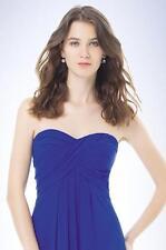 Bill Levkoff Bridesmaid Dress 482 Prom Wedding Long Gown Strapless NEW