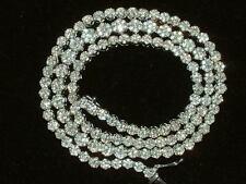 18 quilates chapado W Gold Completo Diamante Flor Cluster Collar 6,50 Quilates