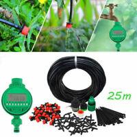 4x25m Tropschlauch Micro Bewässerungssystem Garten Pflanzen TropfBewässerung DE