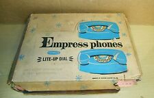 1961 REMCO #510-Empress Phones. play phones w/light-up dial, non-working-Good