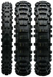 MOTOCROSS FRONT AND REAR TYRE 3 PACK KTM  SX 125  SXF 250 80/100-21 100/90-19
