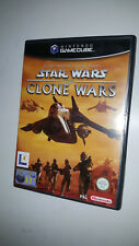 * Nintendo Gamecube Game * STAR WARS THE CLONE WARS * Cube Wii