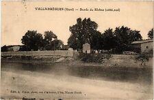 CPA  Vallabrégues (Gard) - Bords du Rhone (coté sud)   (299732)