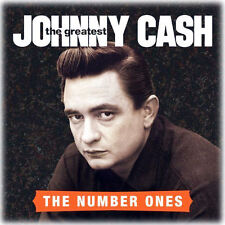 JOHNNY CASH THE GREATEST THE NUMBER ONES CD NEW