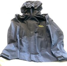 Navy Blue SWCC Instructor Rain Jacket SEAL BUDS Class XL Beyond Gore Tex