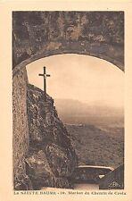 BF6780 station du chemin de croix la sainte baume france       France