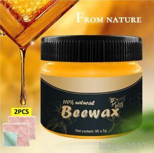 Beeswax Furniture Polish,Wood Seasoning Beewax - Natural Wood Wax Traditional UK