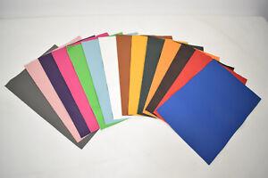 Rindsleder Nappa Glattleder 1,0-1,2 mm diverse Farben Größe 40x30 cm Zuschnitt