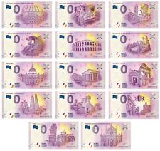 BILLETS 0 ZERO EURO - SOUVENIR - 14 BILLETS DE BANLIEUE ITALIEN - MILAN - VERONE