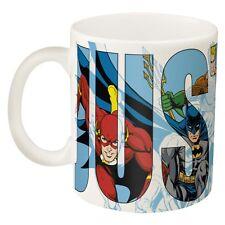 Justice League Ceramic Mug Zak Superman, Wonder Woman, Batman, Flash - New