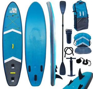 SUP Board Set Stand Up Paddle Board mit Sitz Surfboard Paddel  300 cm C