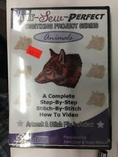 Art Sew Perfect Animals DVD
