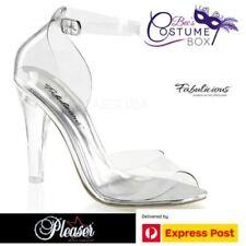 Pleaser Plastic Platforms & Wedges Heels for Women