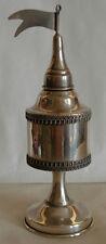 Sterling Silver Besamim Spice Havdalah Tower- Jewish Judaica - 61.3 grams