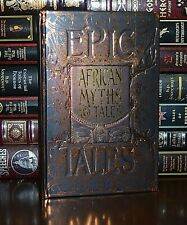 African Myths and Tales Collectible Deluxe New Hardcover Gift