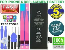 For iPhone 5 1440mAh Replacement Internal Battery +Tools Kit And Adhesive Tape