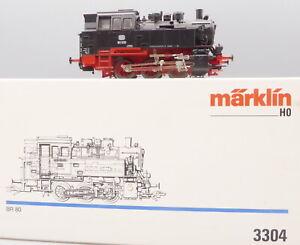 Märklin 3304 H0 Locomotora Br 80 030 De DB Epoche 3 Muy Buen - neuwertig En Ovp