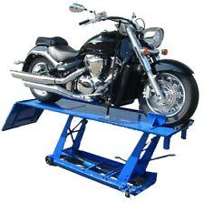 Motorradhebebühne XXL 450KG Übergröße 220cm X 68cm Blau
