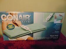 "Conair Moist sponge 11.5"" × 13.5"" Size Heating Pad therapy with Automatic Off"