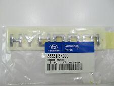 New Genuine Rear Trunk Emblem Badge OEM For 2005-2010 Sonata, Azera 863213K000