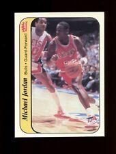 1986 Fleer Sticker Basketball #8 Michael Jordan Chicago Bulls RC GREAT CONDTION