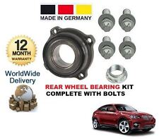 para BMW X6 E71 E72 2008> Kit de rodamientos rueda trasera completo con pernos