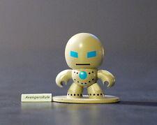 Iron Man 3 Micro Muggs Series 2 Silver Armor Blue Eyes