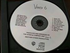 Vanity 6 by Vanity 6 (CD, Oct-1988, Warner Bros.)[CD ON HUB ONLY NO INSERTS]