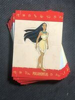 1995 WALT DISNEY SKYBOX POCAHONTAS POP-OUTS COMPLETE (12) CARD SET SMITH/THOMAS+