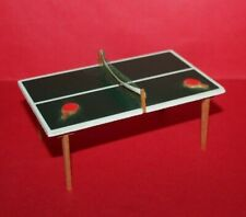 Vintage Dolls House Lundby Table Tennis Table
