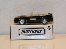 MATCHBOX TOY FAIR 1999 TOY SHOW BLACK FORD MUSTANG CONVERTIBLE NEW # 0069BJ