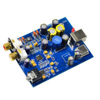 SA9023+ES9028Q2M HiFi Audio Decoder DIY Assemble Amplifier Board 24-bit 96K