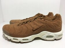 Nike Air Max Plus TN Quilted Ale Brown Sail 806262-200 Men's Shoes Size 11